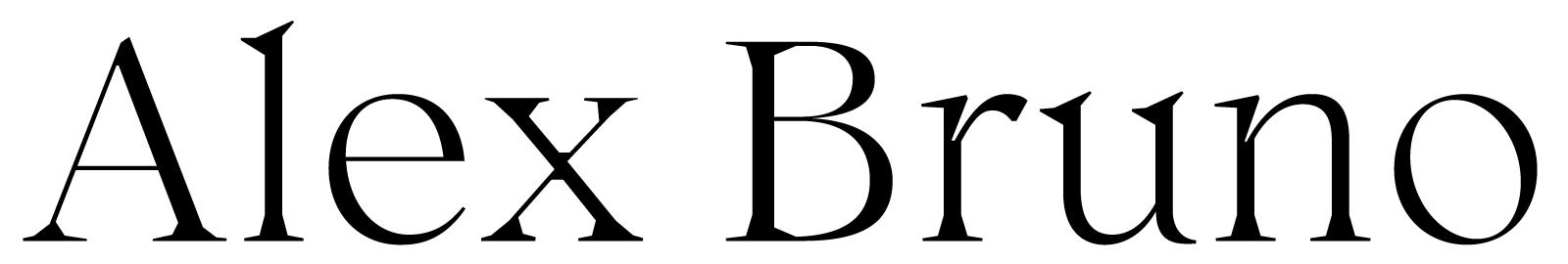 Alex Bruno — Designer